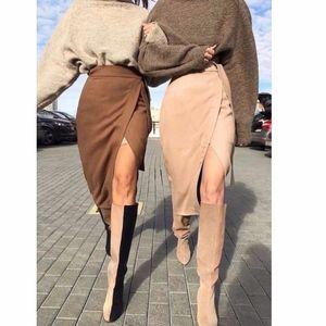 CAMMY Tulip Midi Skirt